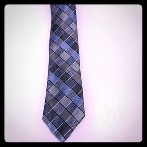 Modern multi color tie